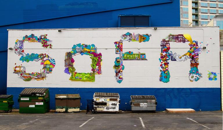 Wonderful SoFA Mural In San Jose, Ca Nice Design